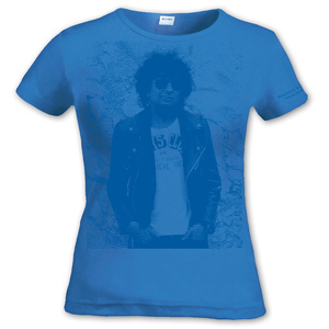 MAGNUS UGGLA - LADY T-SHIRT, BLUE